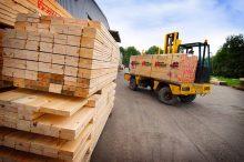 E-shop s dřevěnými materiály